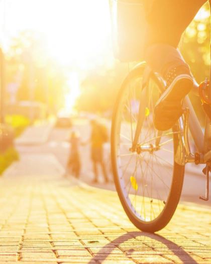 faire du vélo en ville