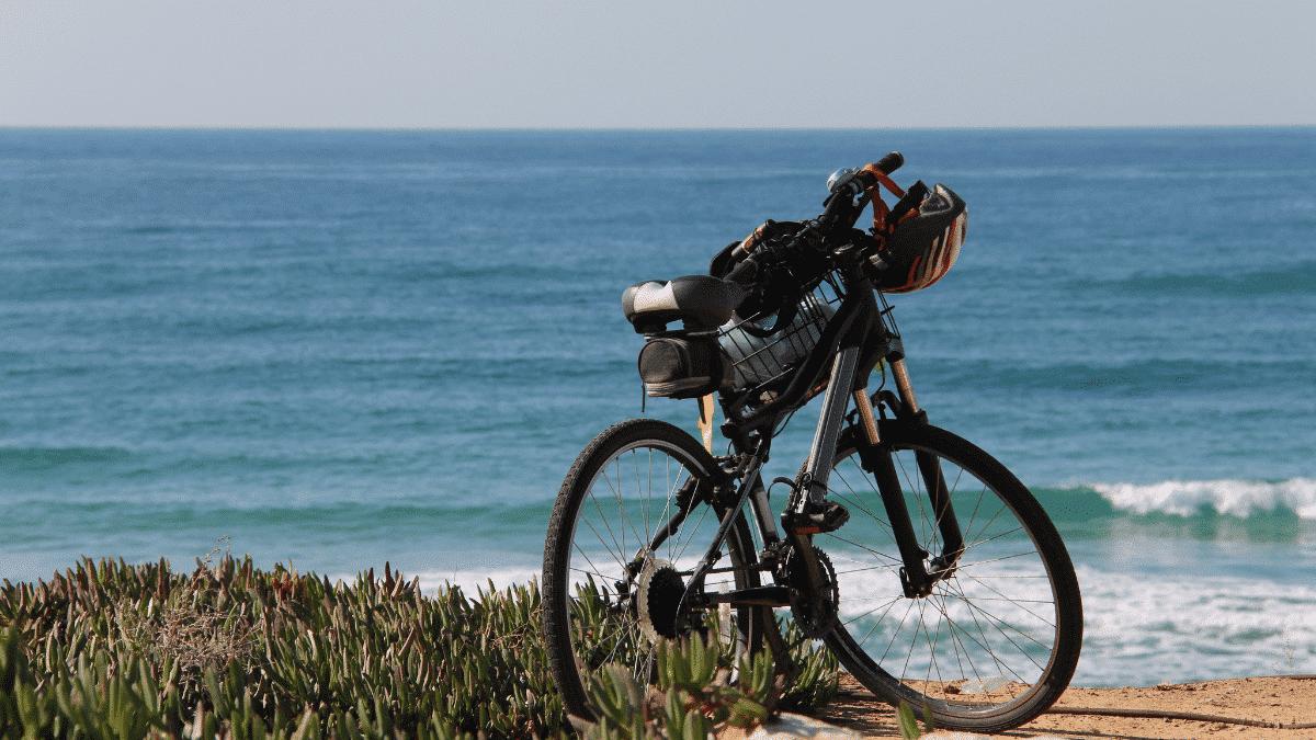 mountain bike path beach circuits arcachon