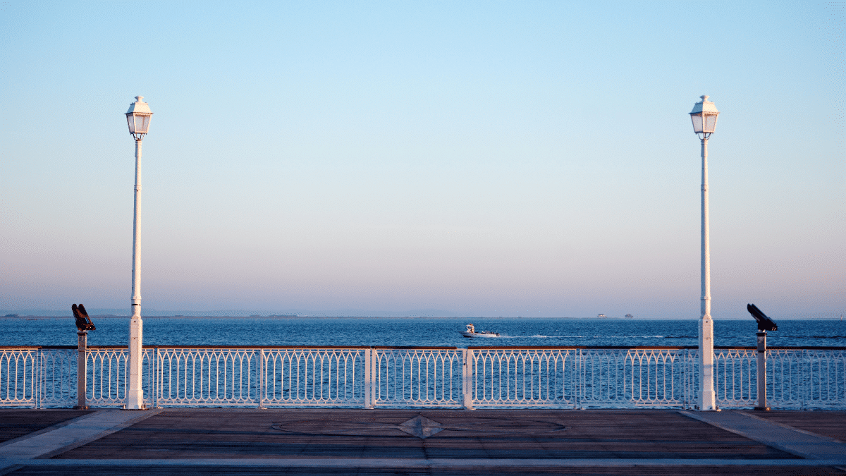 the jetty in arcachon