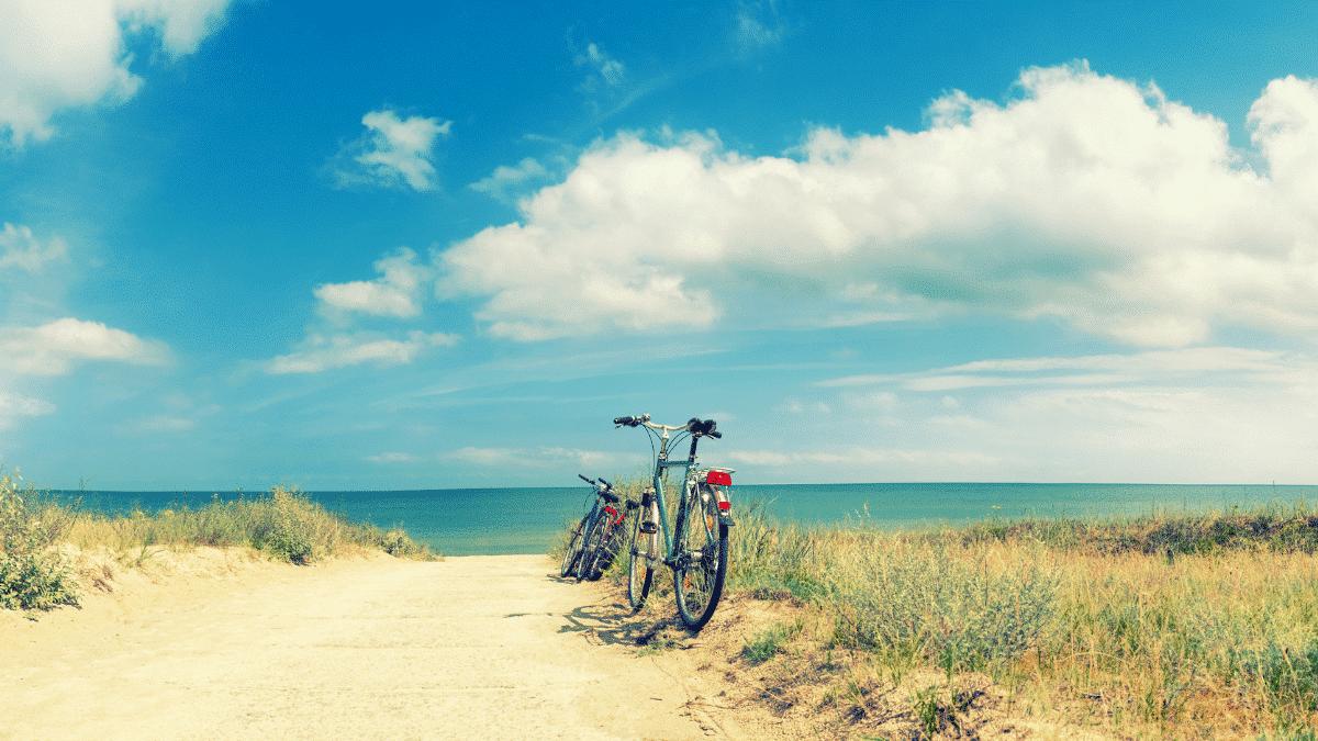 covid and bike Arcachon Basin ride