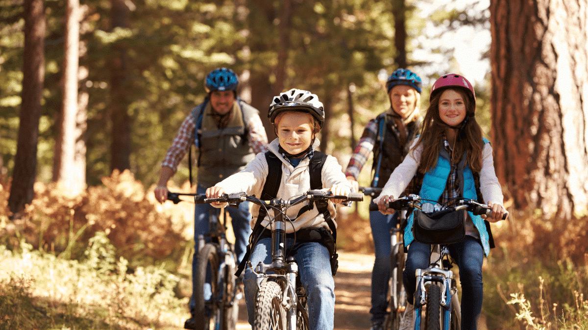 balade vélo famille bassin arcachon
